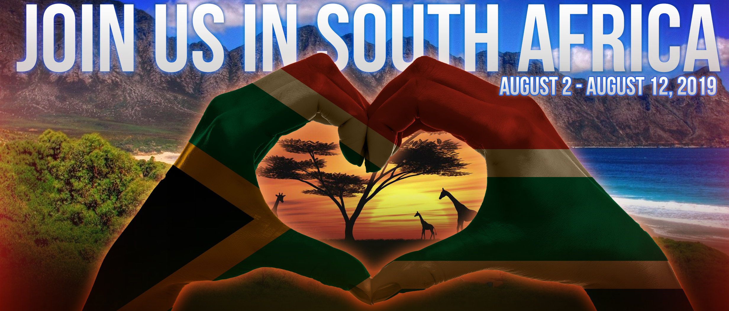 We're going to South Africa